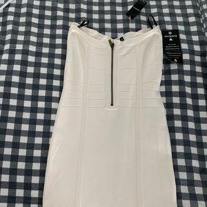 bebe Dresses - Bebe Crisscross Bandage Dress